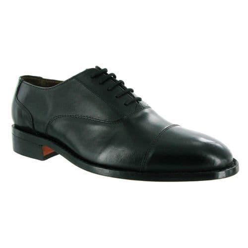 Amblers James Lace Mens Shoes Black